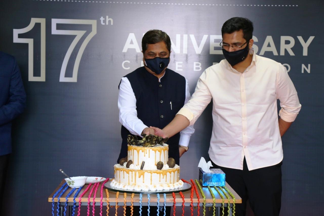 Celebrating 17th Anniversary Dr. D. Y. Patil CAET Talsande on 10th Nov. 2020